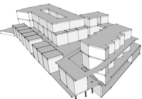 3d model perspective 1